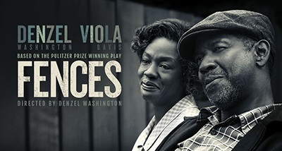 fences the movie poster with denzel washington and viola davis