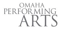 Omaha Performing Arts Logo