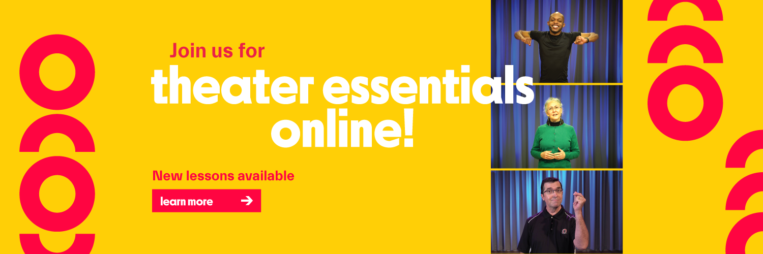 theater essentials online - new lessons available! Learn more