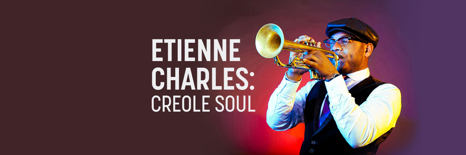 etienne charles playing trumpet