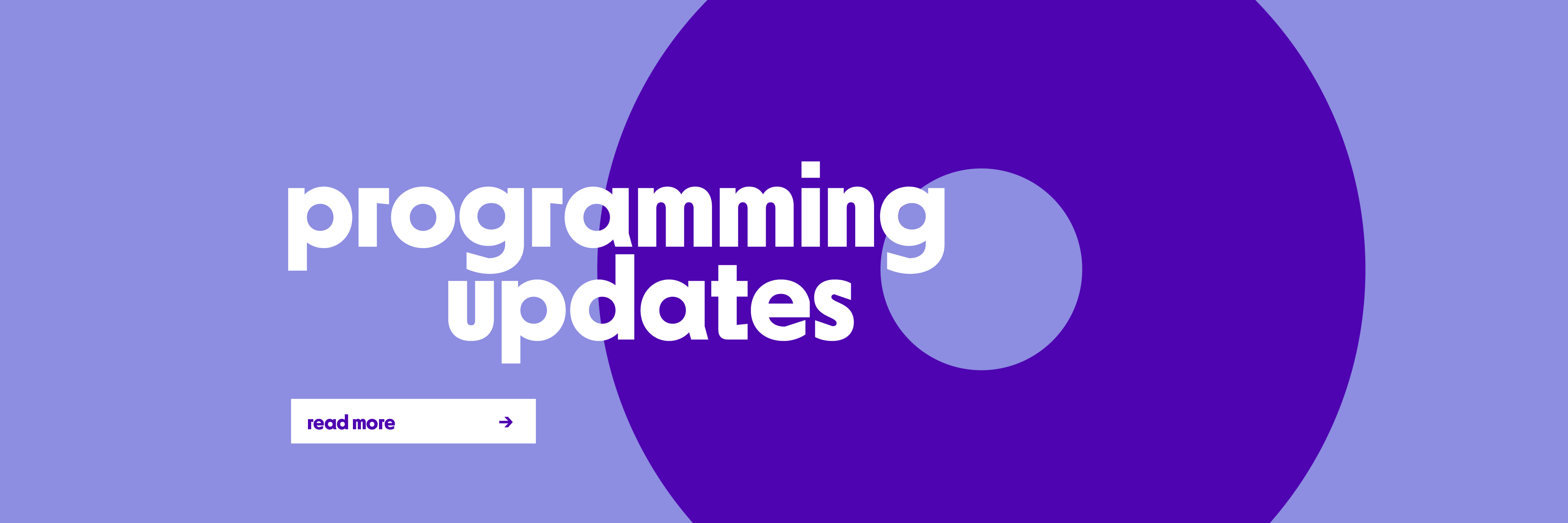 Programming Updates
