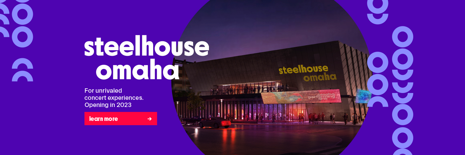steelhouse omaha, for unrivaled concert experiences, opening in 2023