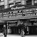 Orpheum History Movie Marquee